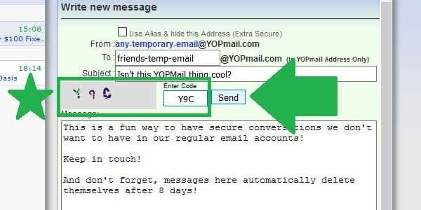 How to Send Emails from a YOPMail Disposable Email Account